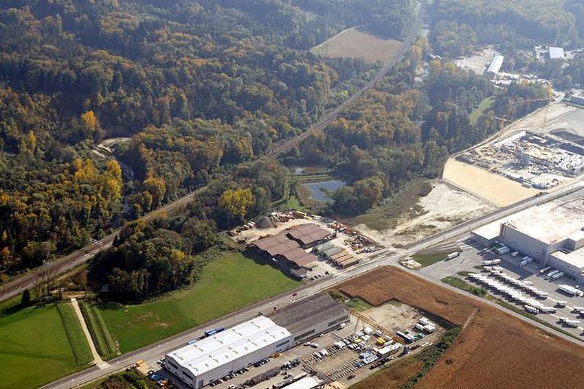 Construction d'une nouvelle liaison routière entre la zone industrielle d'Aclens et la jonction N01 de Cossonay.