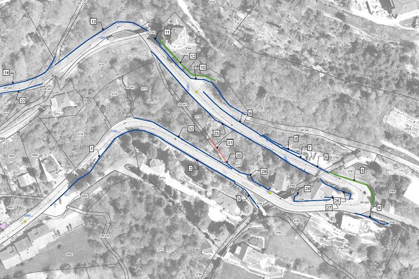 Réseau des routes cantonales du canton de Vaud – Gestion des murs de soutènements - Inventaire et évaluation sommaire des risques