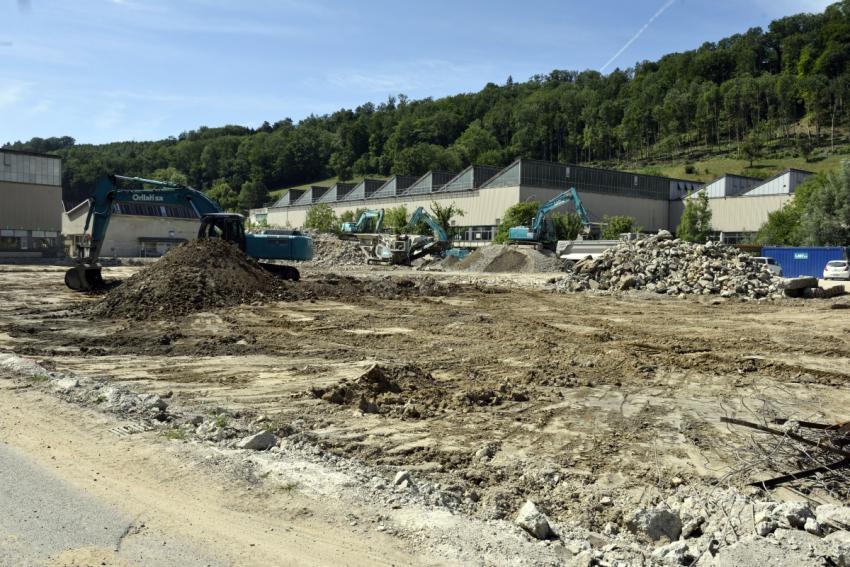 Construction d'un nouveau centre logistique sur le site de Venoge Parc (anciennes Câbleries) à Penthalaz