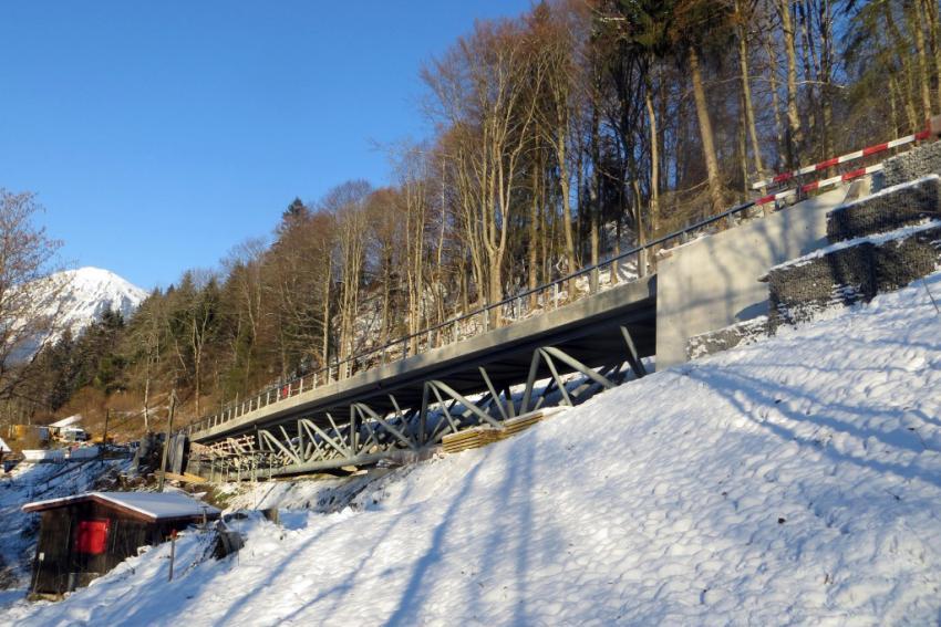 Construction d'un nouveau pont