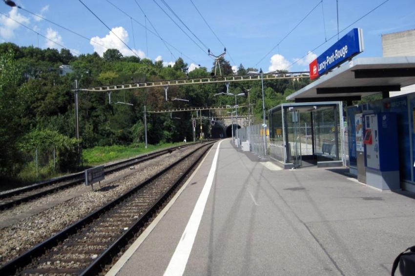Liaison ferroviaire Cornavin – Eaux-Vives - Annemasse (France), Lot 2 – Secteur St.-Jean – La Praille.